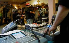 Recording SoulFlight Live at Sozo Cafe